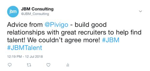 Advice from Pivigo