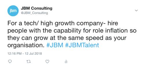 JBM Twitter