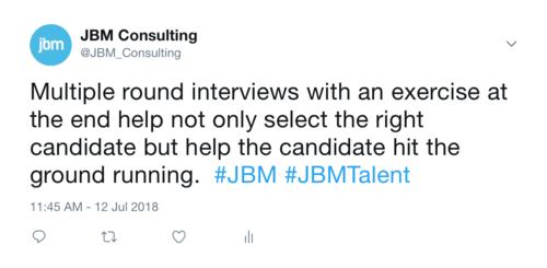 Multiple round interviews