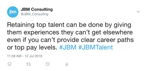Retaining top talent