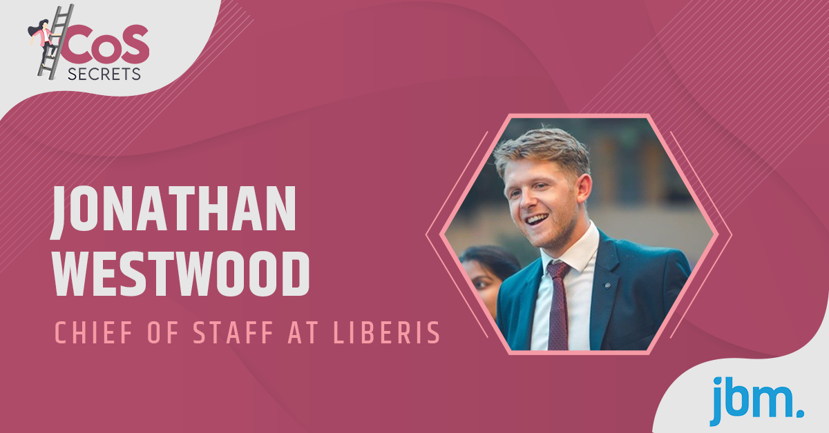 Chief of Staff Secrets with Jonathan Westwood